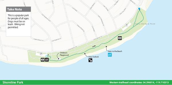 Shoreline Park Map
