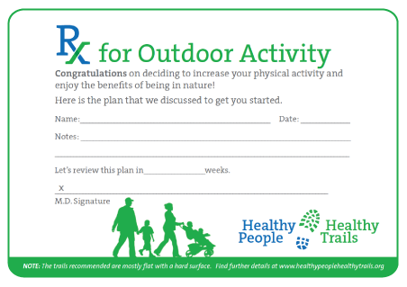 Prescription for Outdoor Activity