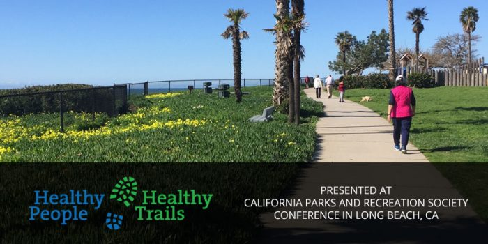 HPHT presentation at California Parks and Recreation Society