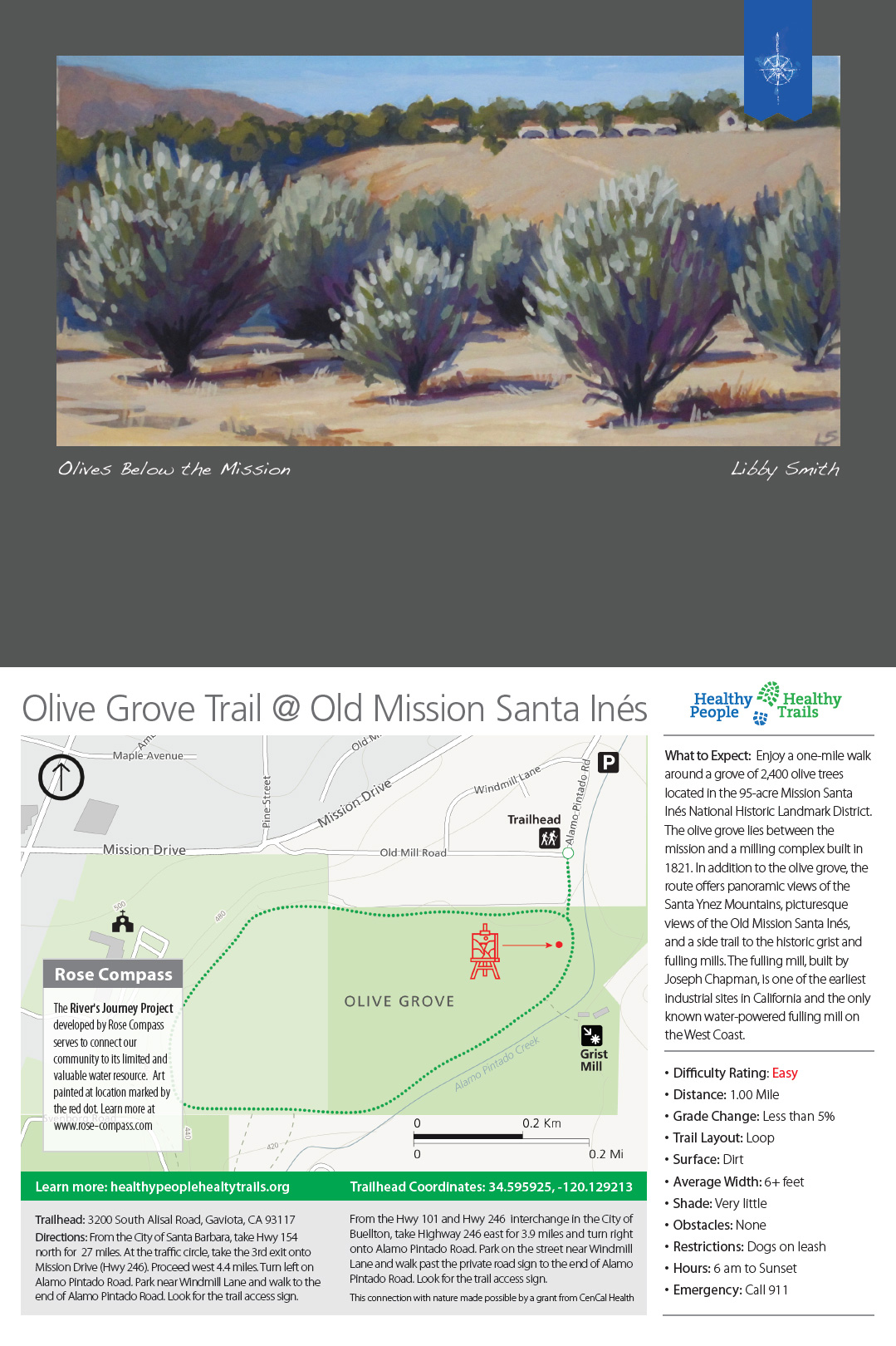 Olive Grove at Santa Ines Mission