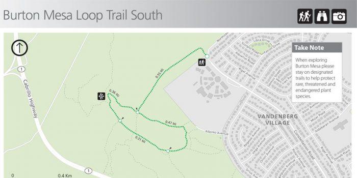 Burton Mesa Loop Trail South