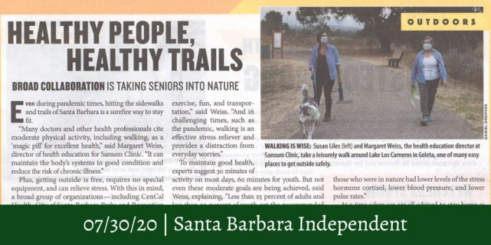 Healthy People Article
