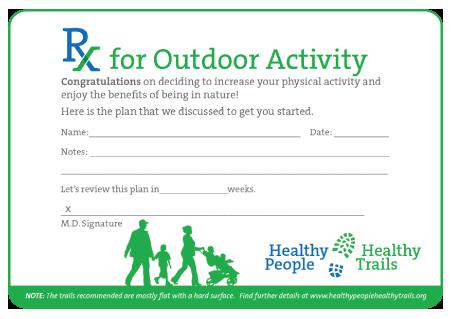 Prescription for Outdoor Activity